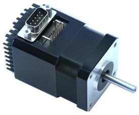 Stepper motors integrated solutions servodrive for Stepper motor integrated controller