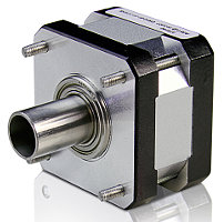 Hollow shaft stepper motor servodrive for Hollow shaft servo motor